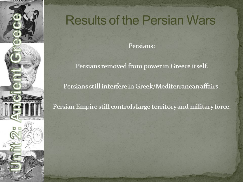Results of the Persian Wars