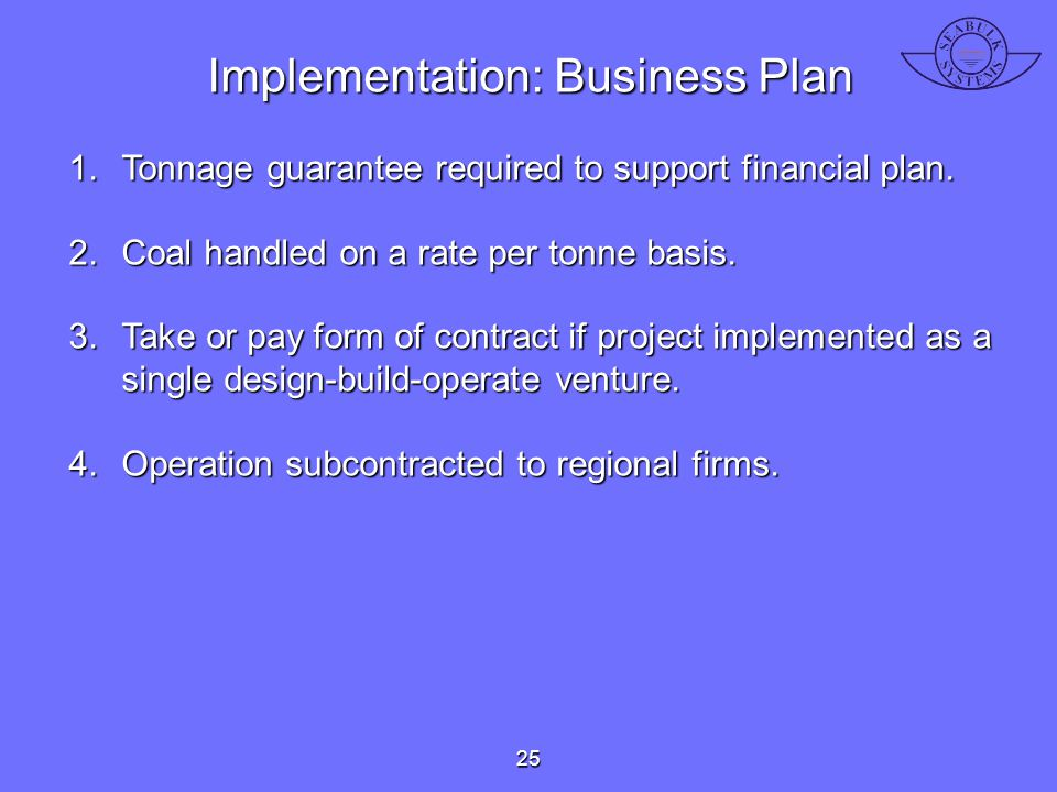 Implementation: Business Plan
