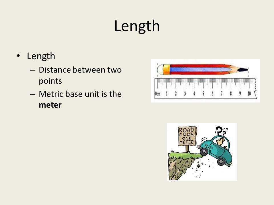 Length Length Distance between two points