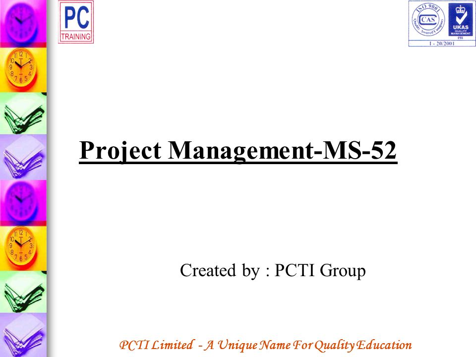 Project Management-MS-52