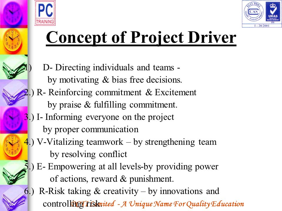 Concept of Project Driver