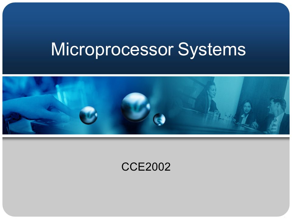 Microprocessor Systems