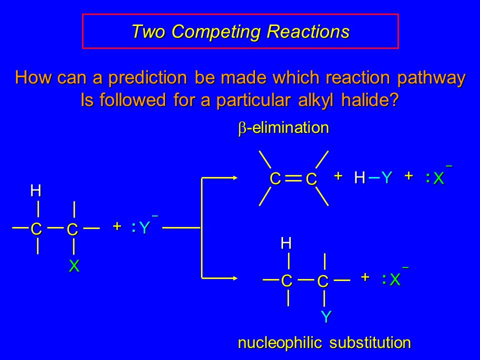 Two Competing Reactions