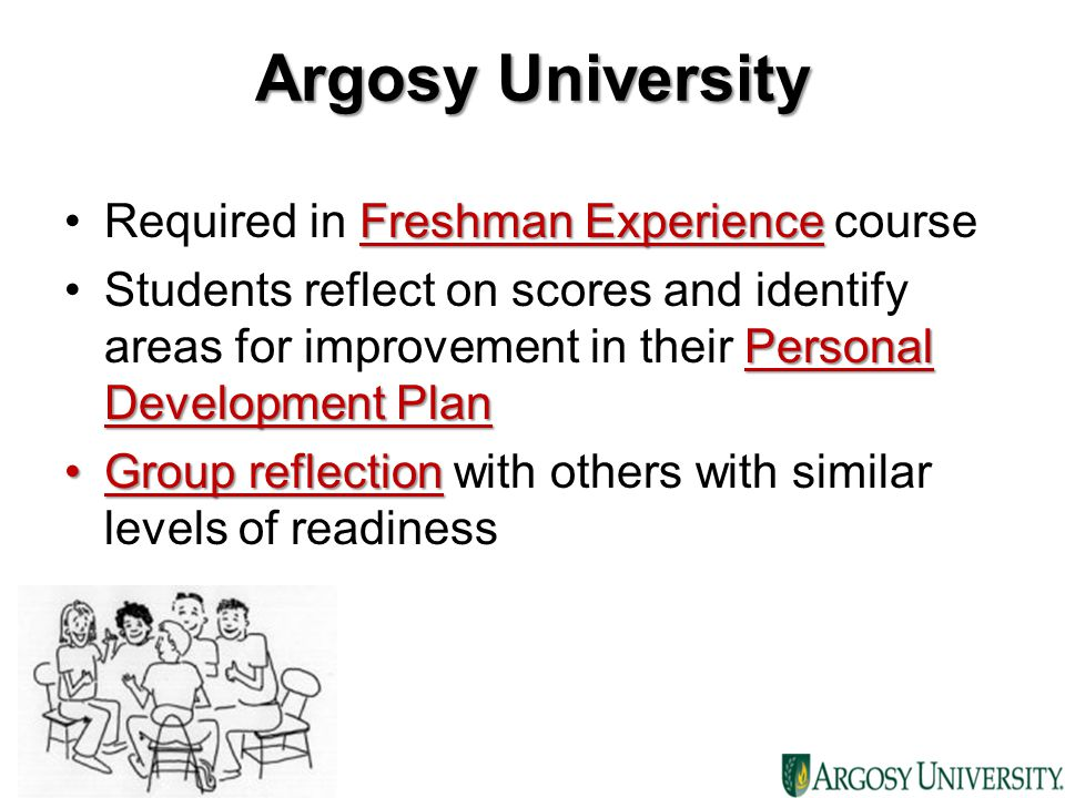 Argosy University Required in Freshman Experience course