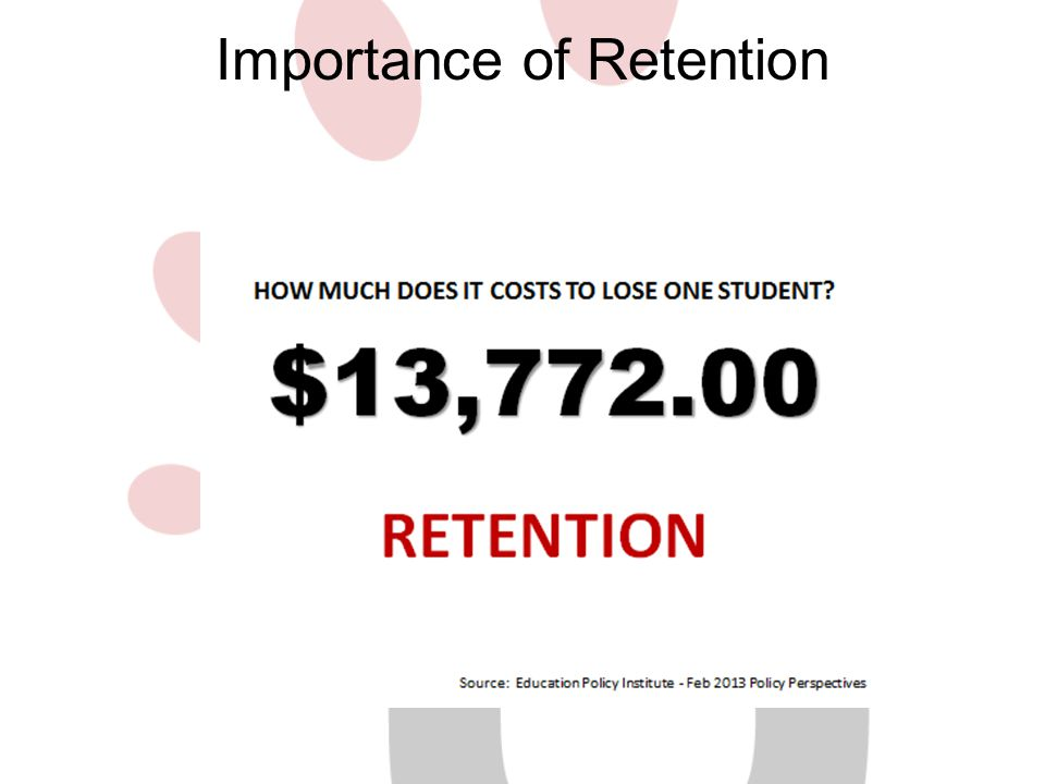 Importance of Retention