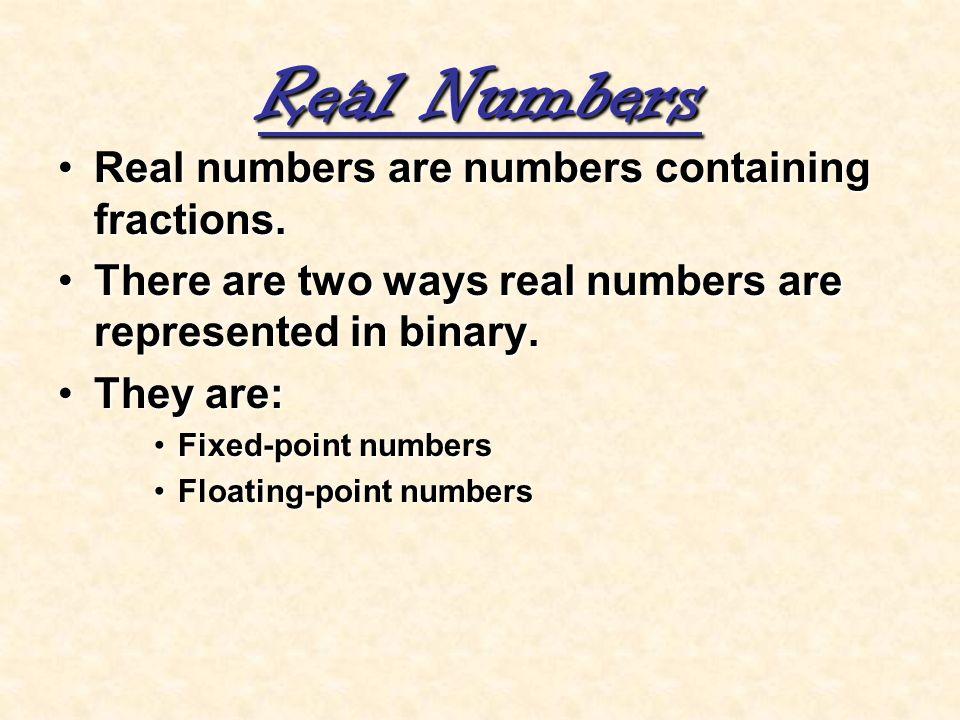Binary converter fixed point
