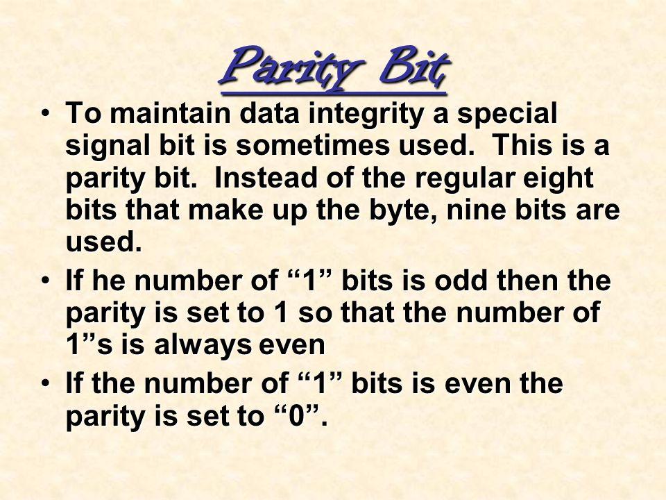 Parity Bit