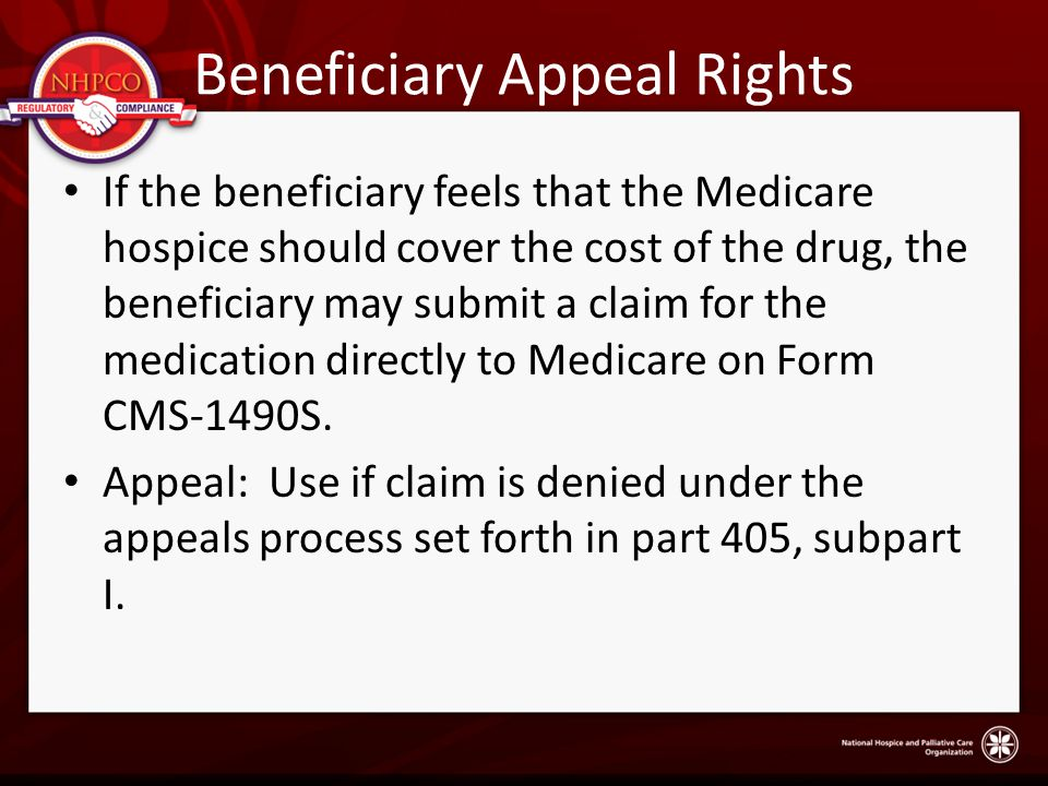 Beneficiary Appeal Rights