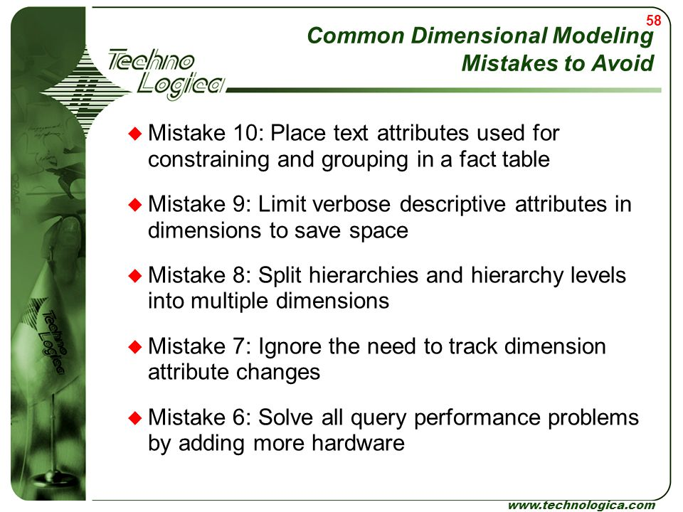 Common Dimensional Modeling Mistakes to Avoid