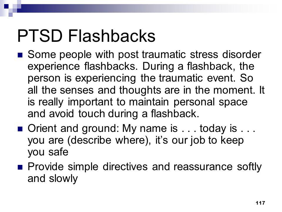 PTSD Flashbacks