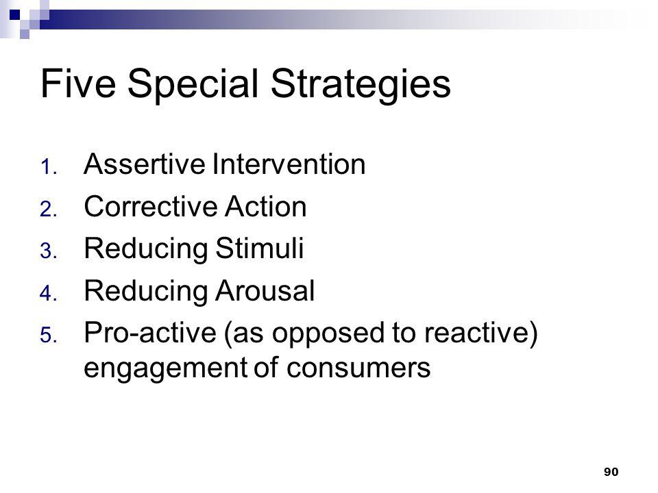 Five Special Strategies