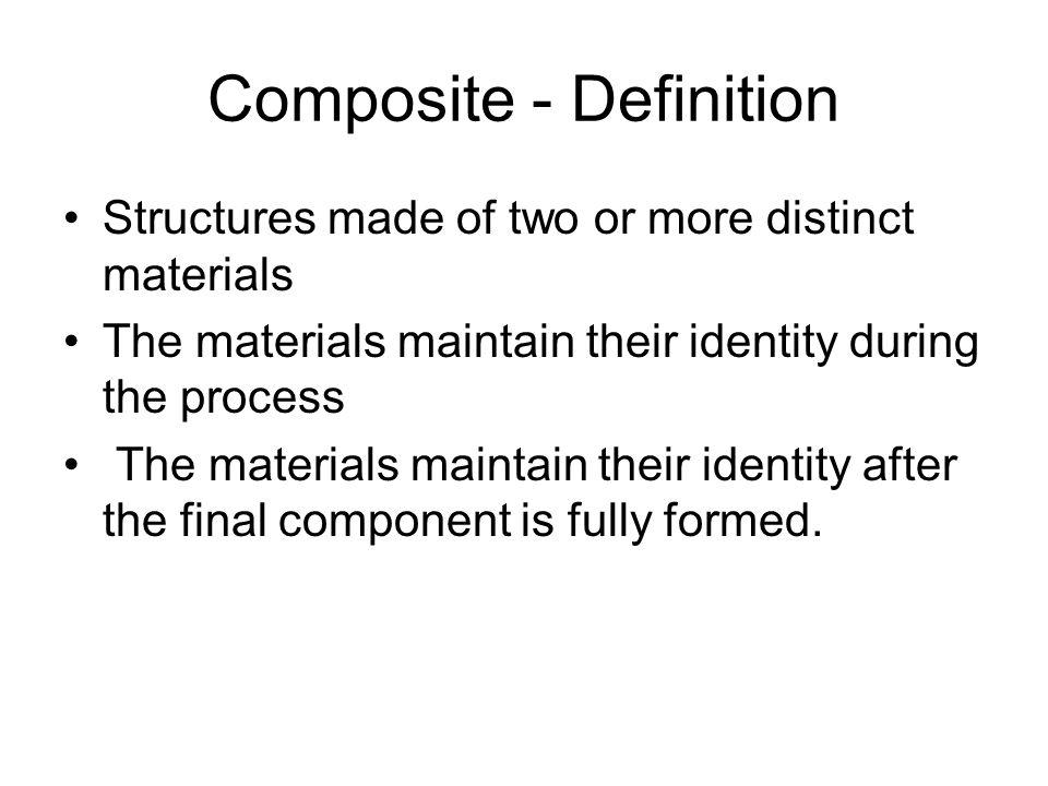 Composite - Definition