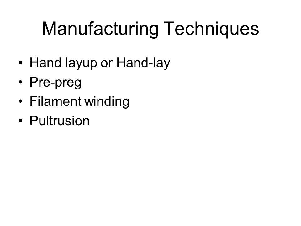 Manufacturing Techniques