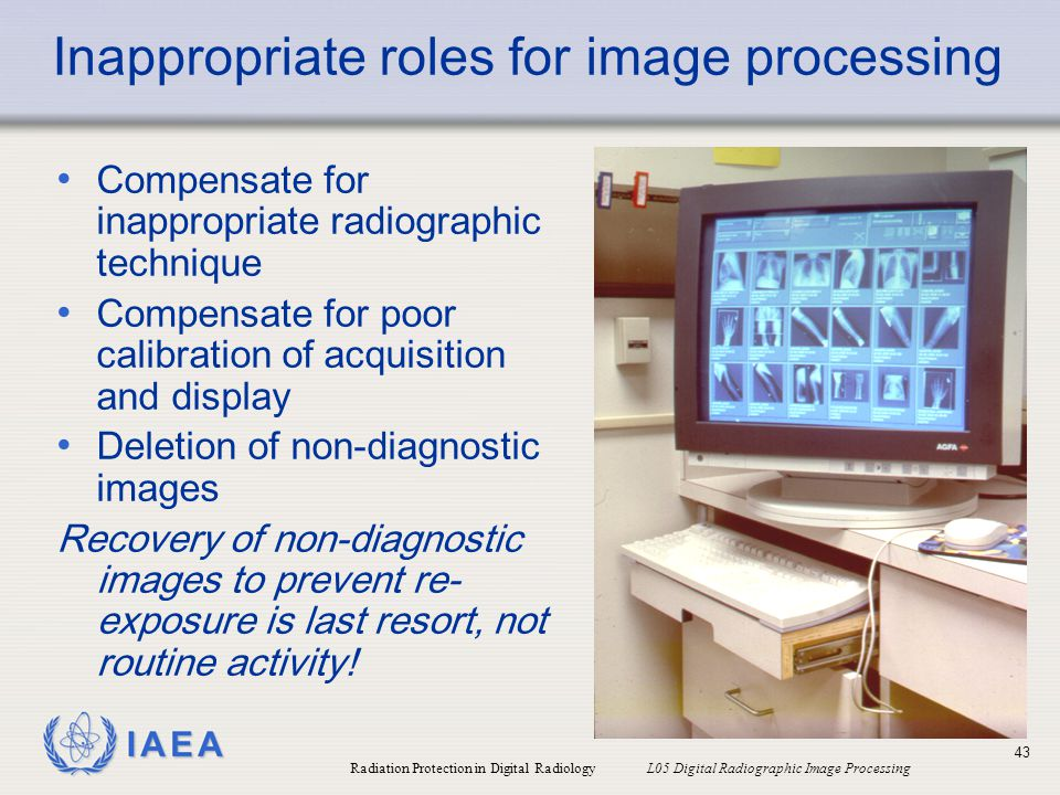 Inappropriate roles for image processing