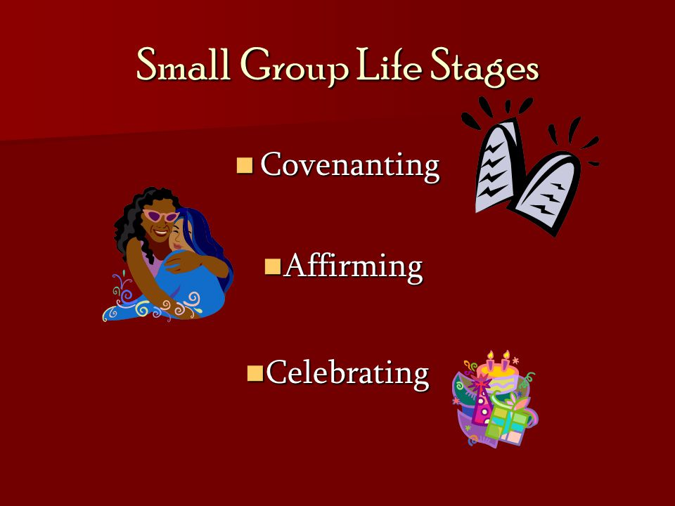 Small Group Life Stages