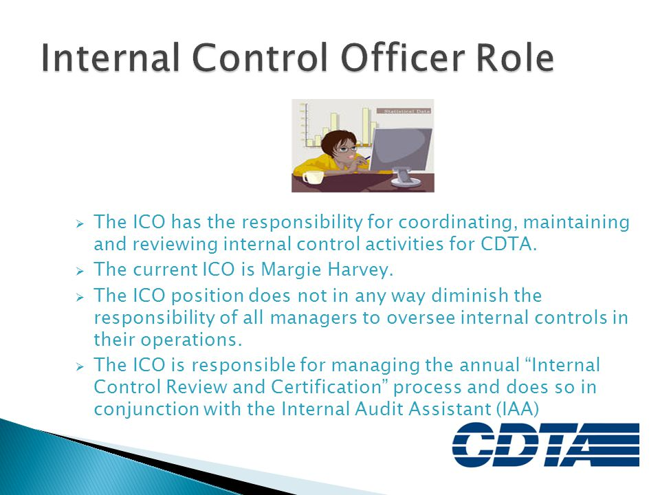 Internal Control Officer Role