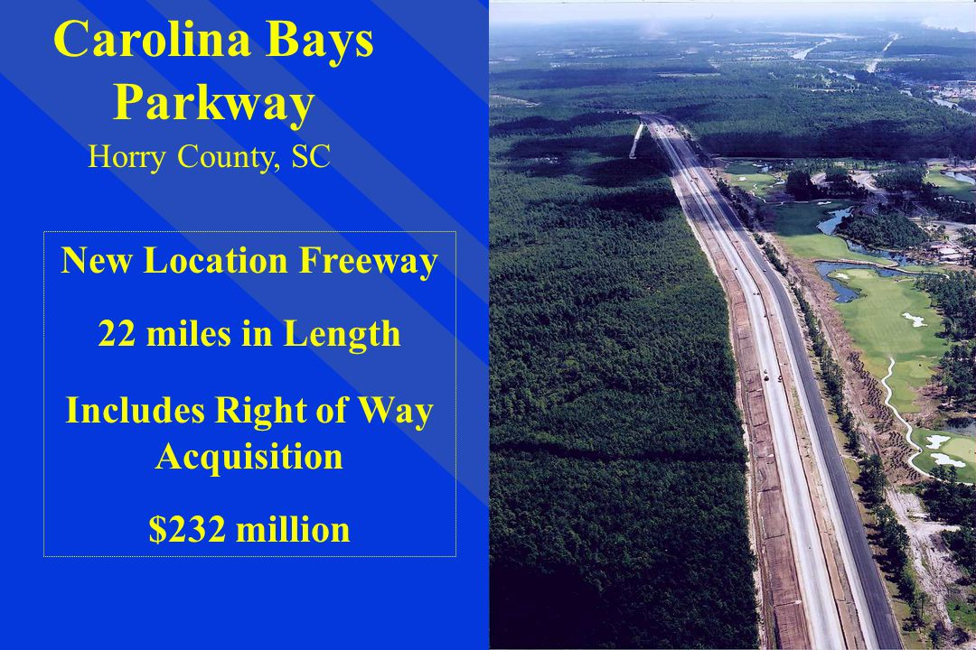 Includes Right of Way Acquisition