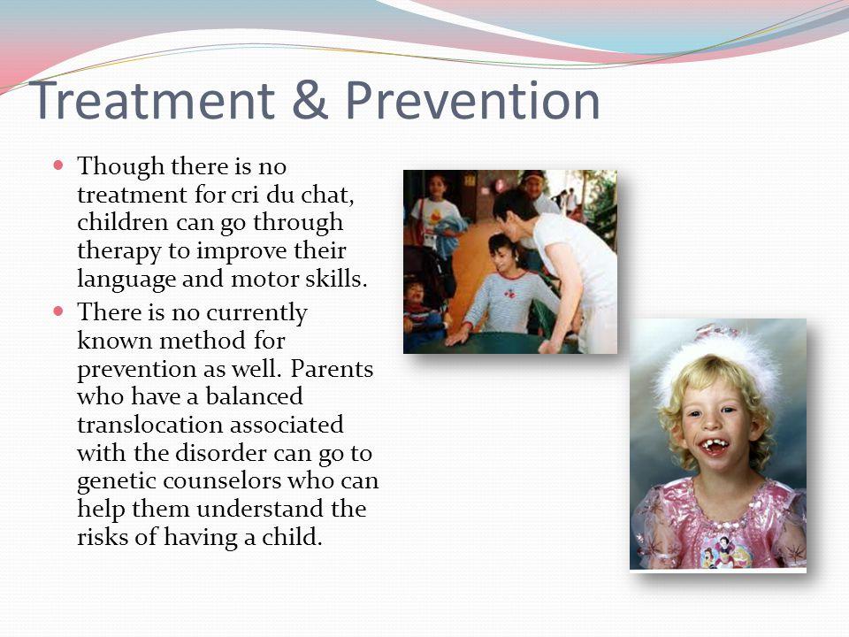 Treatment & Prevention