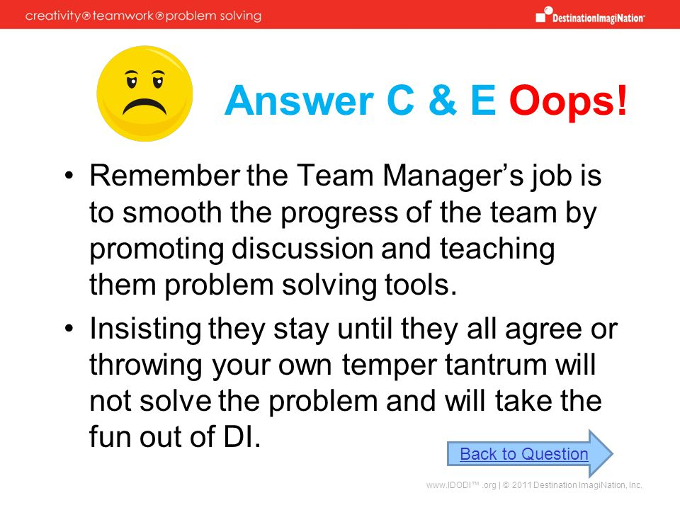 Answer C & E Oops!