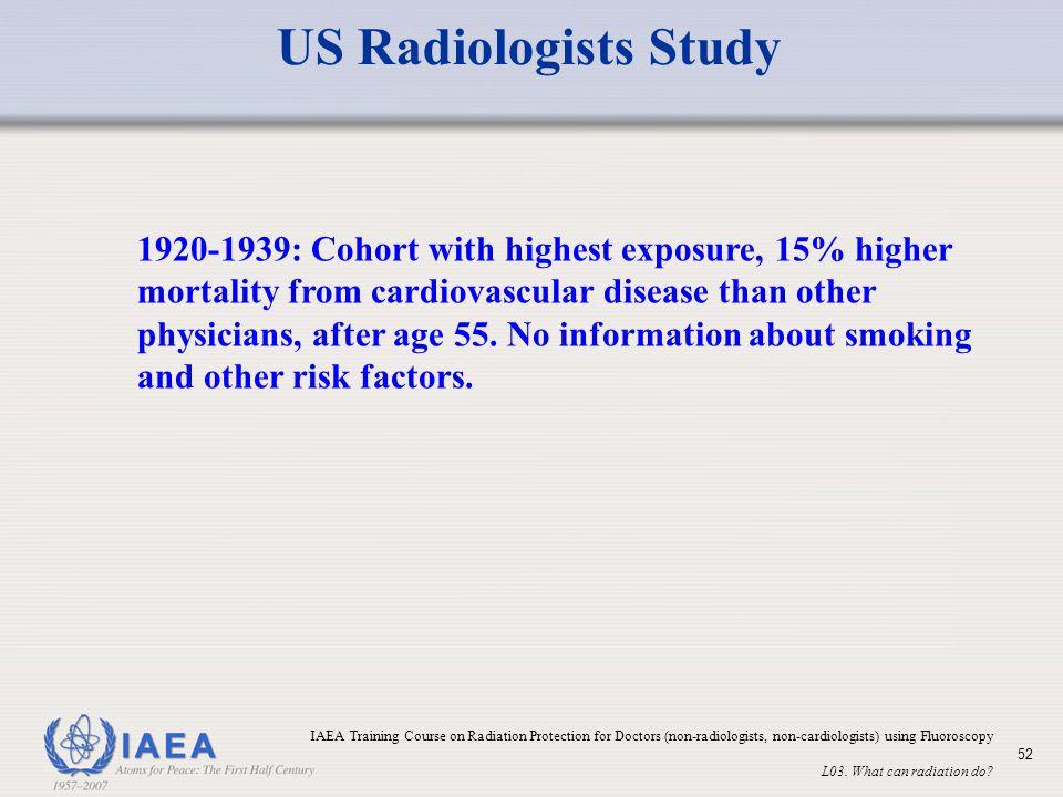 US Radiologists Study