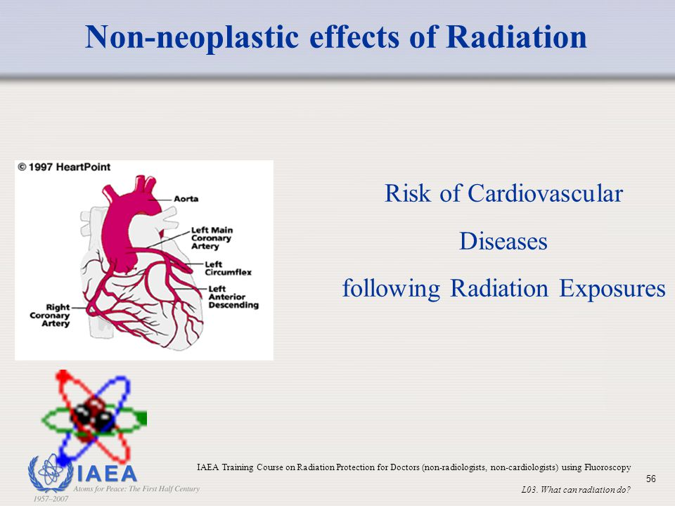 Non-neoplastic effects of Radiation