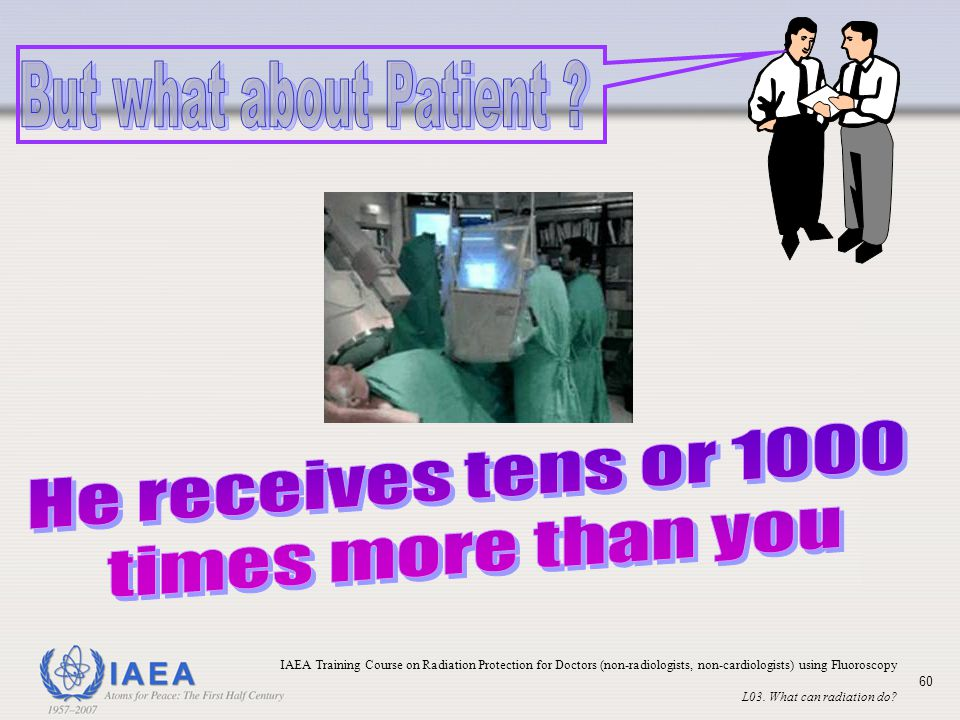 But what about Patient He receives tens or 1000 times more than you