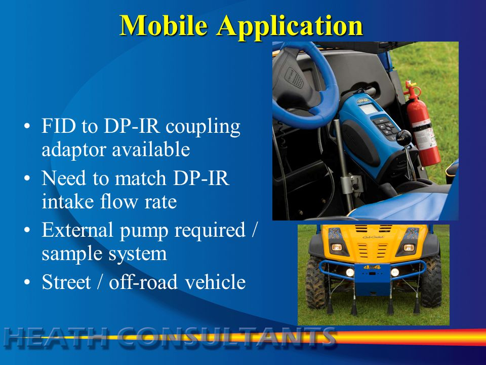 Mobile Application FID to DP-IR coupling adaptor available