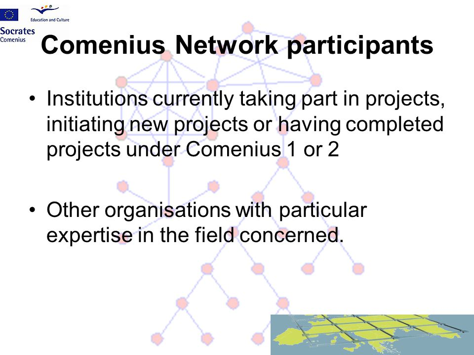 Comenius Network participants
