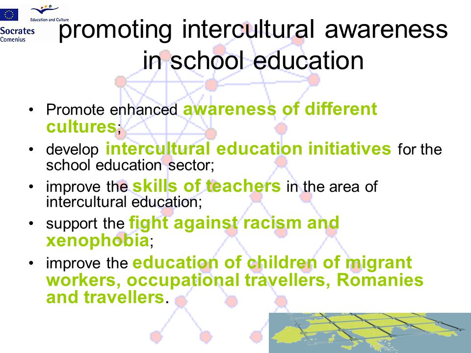 promoting intercultural awareness in school education