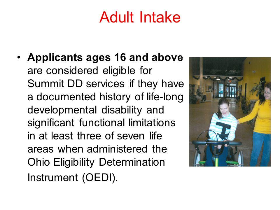 Adult Intake