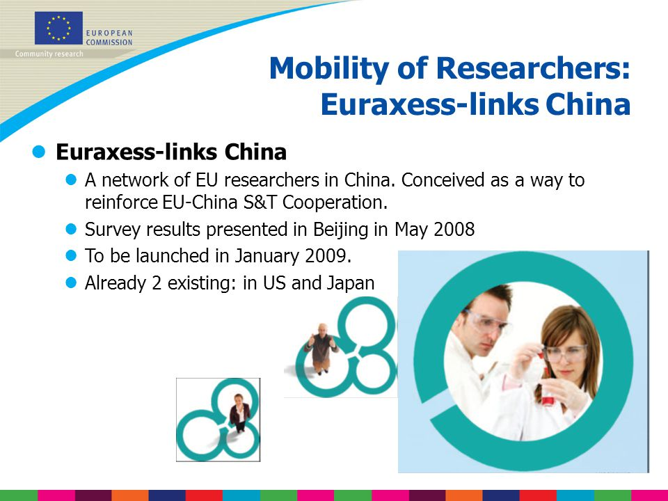 Mobility of Researchers: Euraxess-links China