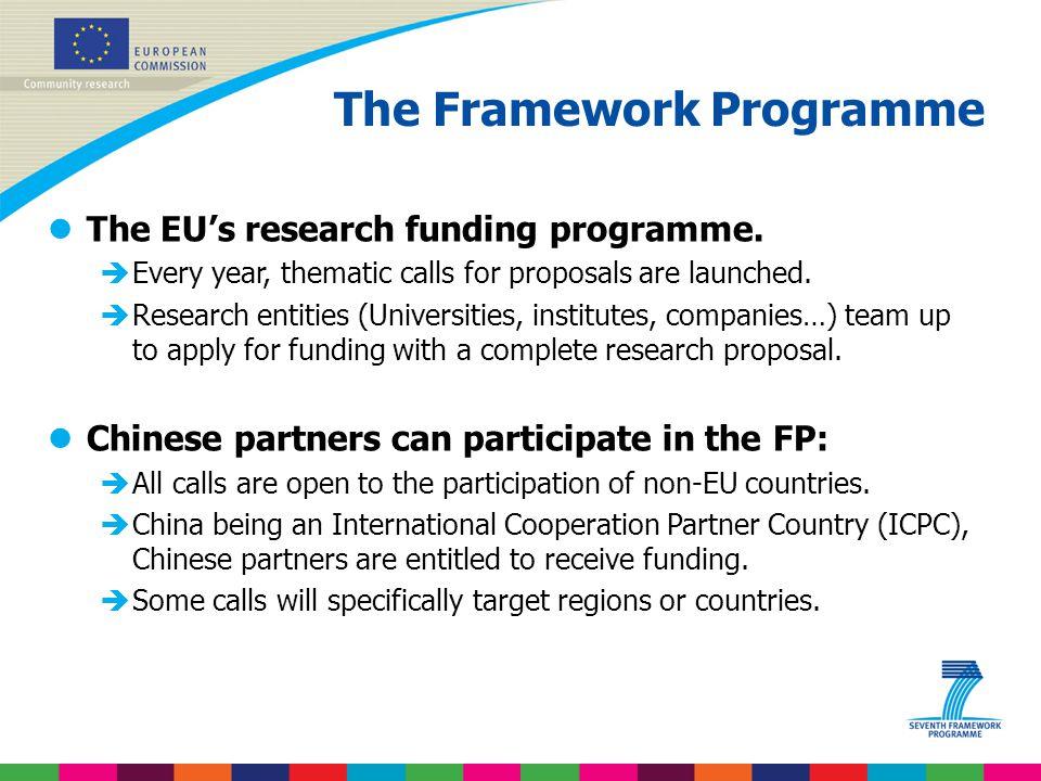 The Framework Programme