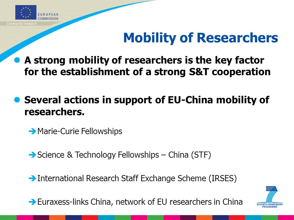 Mobility of Researchers
