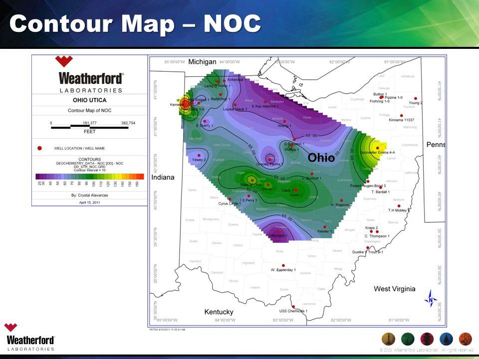 Contour Map – NOC