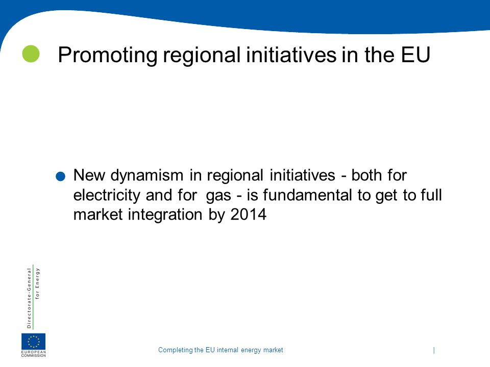 Promoting regional initiatives in the EU