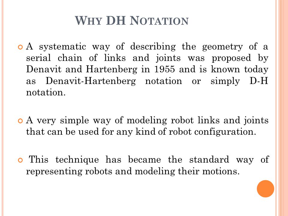 Why DH Notation
