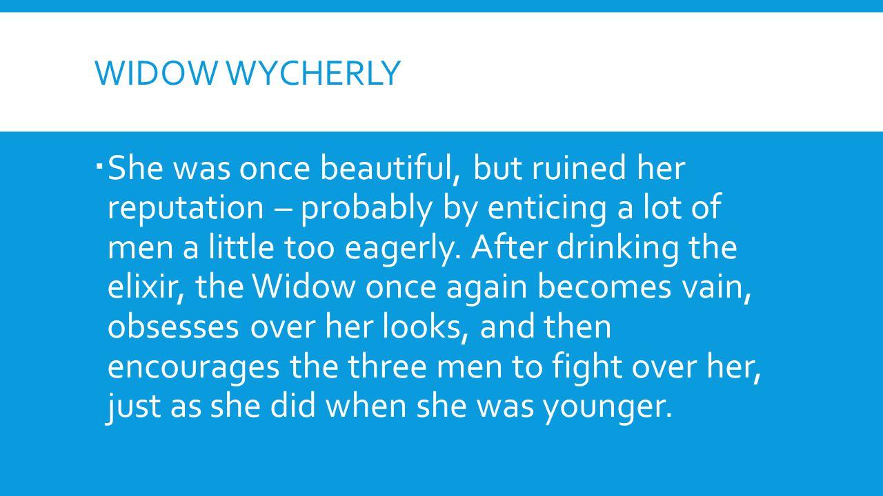 Widow wycherly
