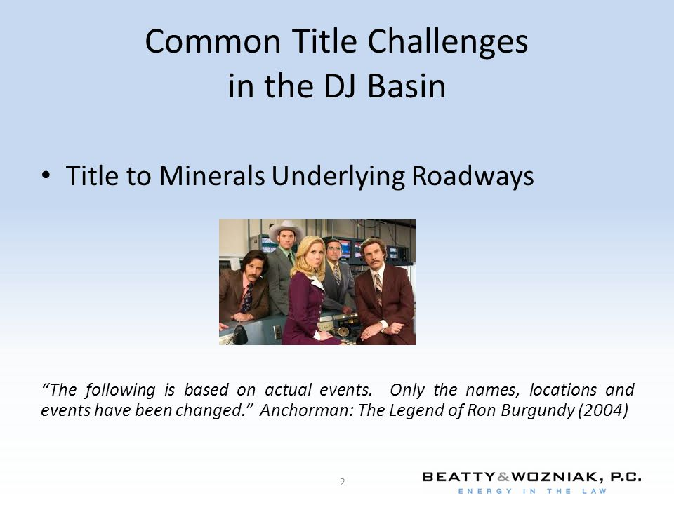 Common Title Challenges in the DJ Basin