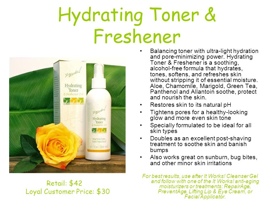 Hydrating Toner & Freshener