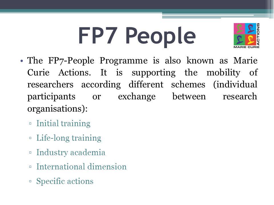 FP7 People