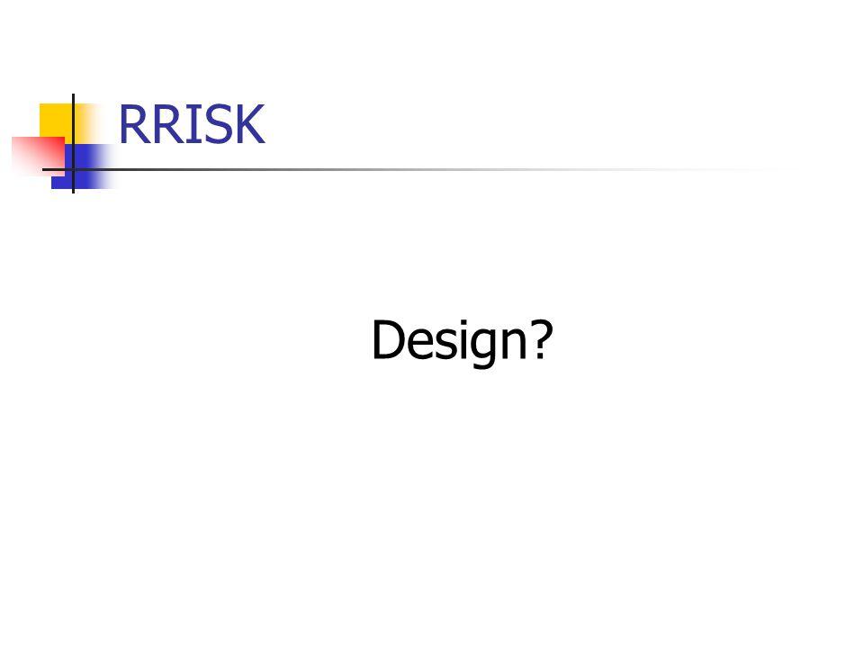 RRISK Design