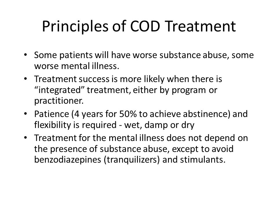 Principles of COD Treatment