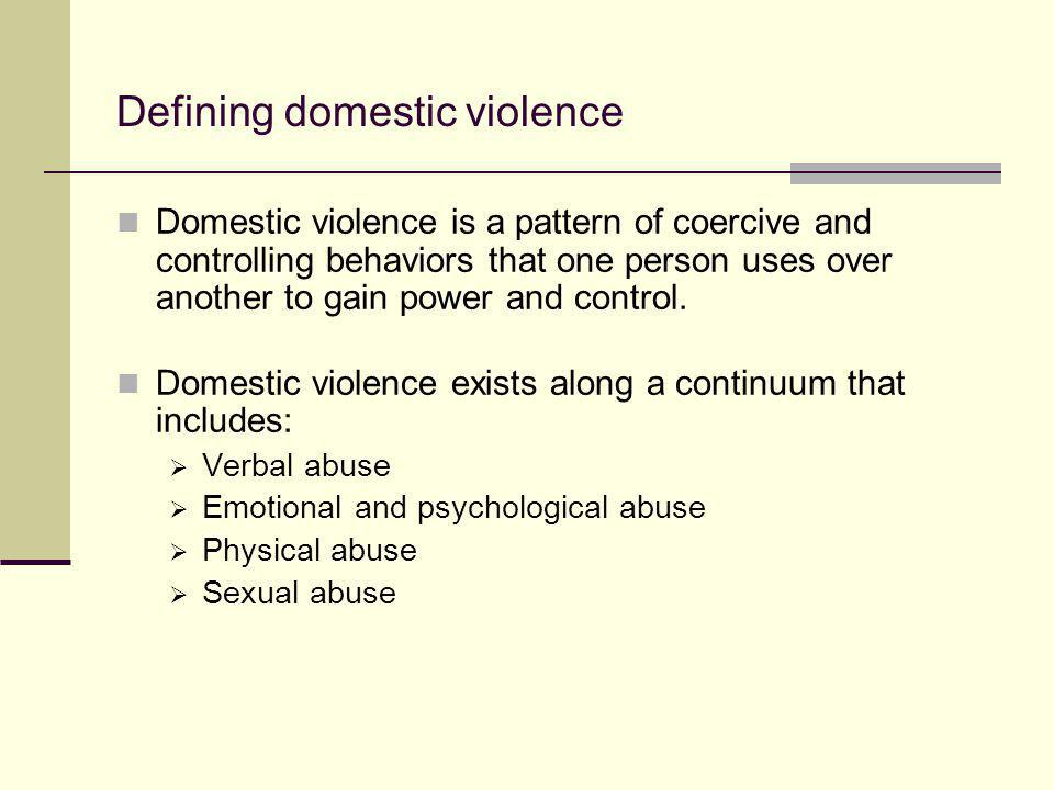 Definitions of Child Abuse & Neglect
