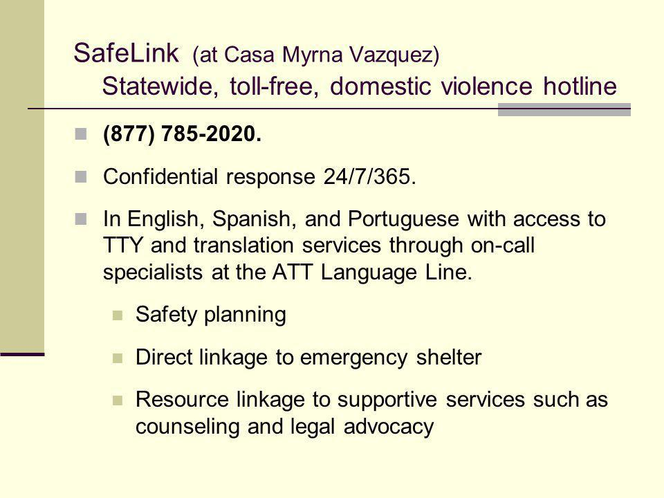 SafeLink (at Casa Myrna Vazquez)