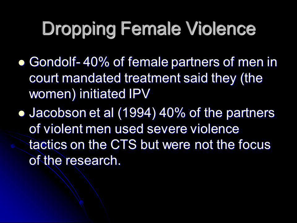 Dropping Female Violence