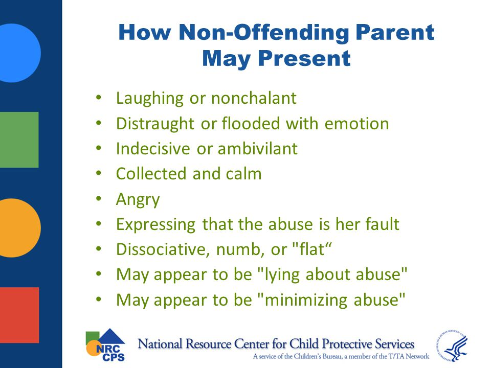 How Non-Offending Parent May Present