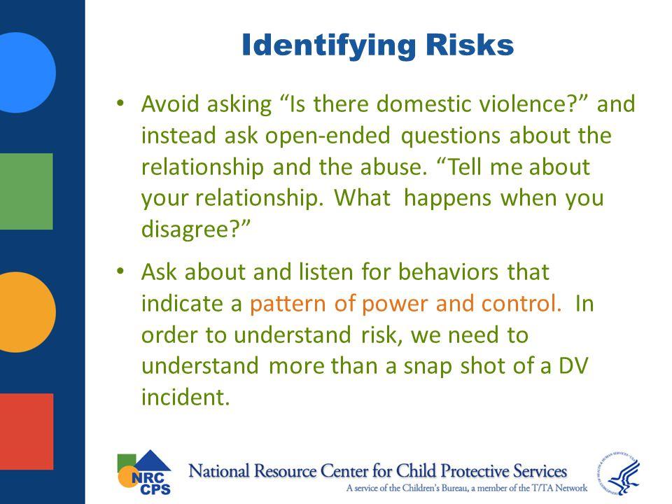 Identifying Risks