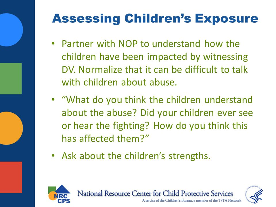 Assessing Children's Exposure