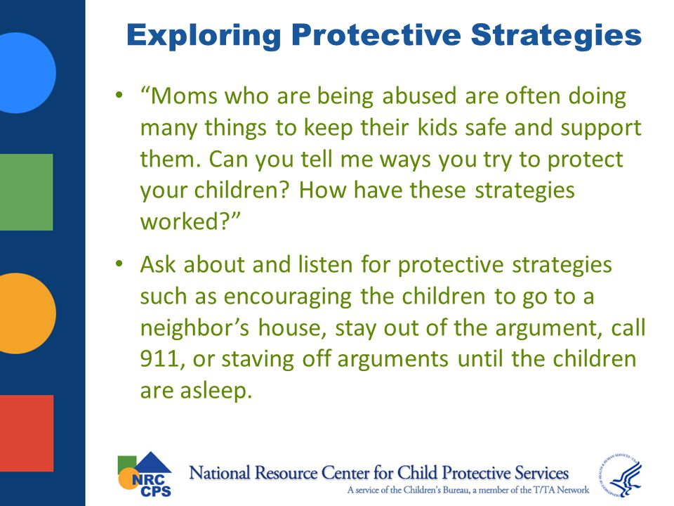 Exploring Protective Strategies