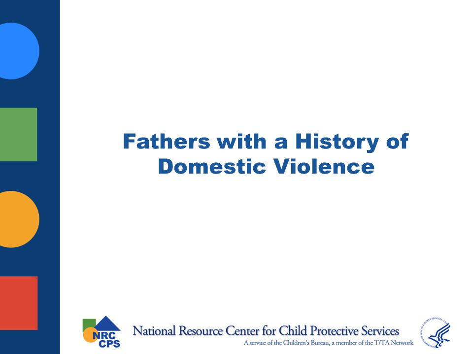 Fathers with a History of Domestic Violence